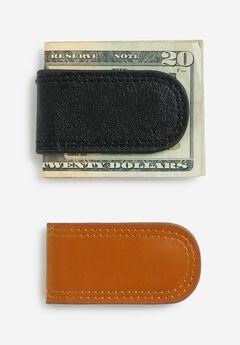 Leather Money Clip,