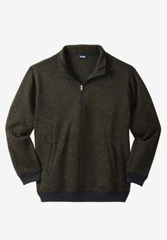 ¼ Zip Sweater Fleece ,