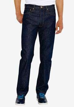 Levi's® 501® Shrink-To-Fit™ Straight Leg Jeans, RIGID, hi-res