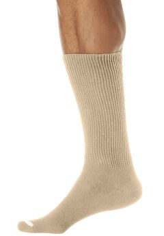 Oversized Crew Socks, KHAKI