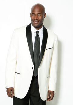 Tuxedo Jacket by KS Signature, WHITE, hi-res