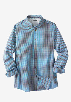 Shrink-Less™ Long-Sleeve Sport Shirt,