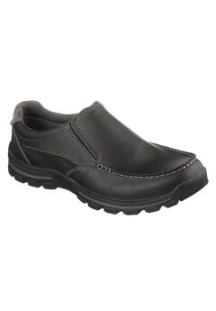 Braver - Rayland Relaxed Fit Slip-On Loafer by Skechers®, BLACK, hi-res