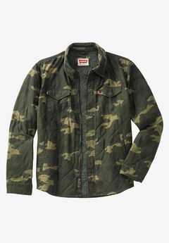 Quilted Shirt Jacket by Levi's®,