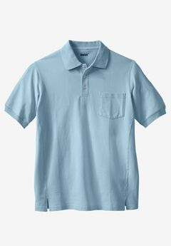 Short Sleeve Modern Fit Piqué Polo, BLUE HARBOR, hi-res