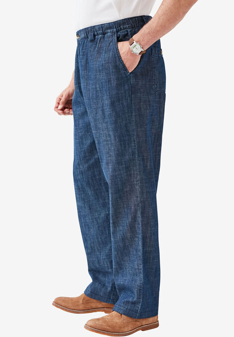 42088b7ec57 Knockarounds® Plain Front Pants in Twill or Denim
