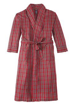Hanes® Woven CVC Shawl Robe,