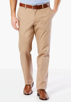 Easy-Care Flat Front Khaki Pants by Dockers®,