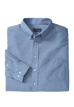Wrinkle-Resistant Oxford Dress Shirt by KS Signature, ROYAL BLUE