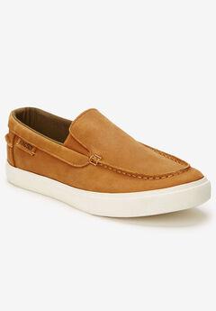 KingSize Slip On Shoe, DISTRESSED BROWN, hi-res