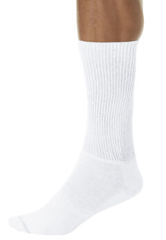 Oversized Crew Socks, WHITE