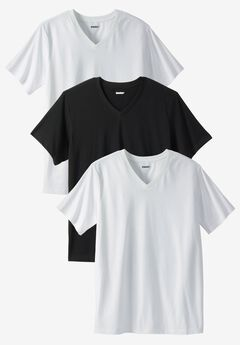 Cotton V-Neck Undershirt 3-Pack,