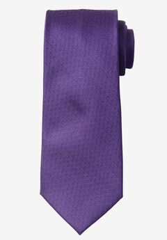 Extra Long Solid Tie, GRAPE, hi-res