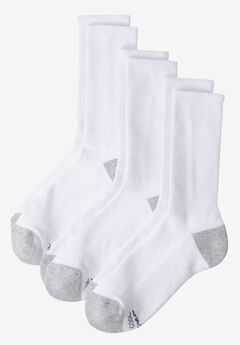 Hanes® X-Temp® Crew-Length Socks 6-Pack,
