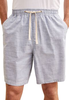 Chambray Shorts by KS Island™, CHAMBRAY, hi-res