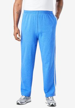 Lightweight Sweat Pants with Racing Stripes,