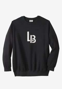 Fleece Crewneck Pullover by Liberty Blues®, L B