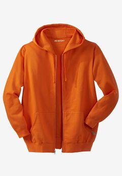Wicking Fleece Zip Hoodie by KS Sport™ ,
