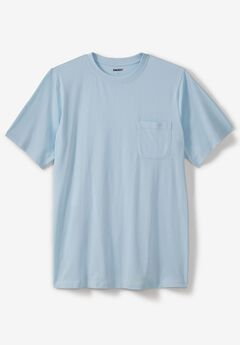 Pima Short-Sleeve Pocket Crewneck T-Shirt