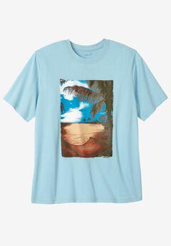 Baja Screenprint Tee by KS Island™, HAMMOCK, hi-res