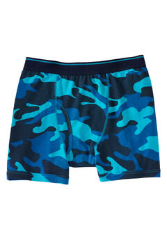 Patterned Boxer Briefs, NAVY CAMO, hi-res