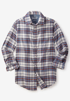 Lightweight Flex Flannel Shirt by Liberty Blues®,