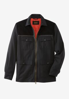 3-in-1 Field Jacket by Boulder Creek®, BLACK