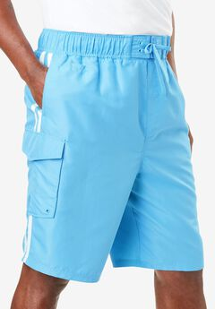 Double Stripe Boardshorts,