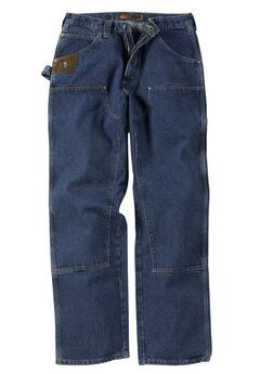 Classic Fit Utility Jeans by Wrangler®, ANTIQUE INDIGO, hi-res