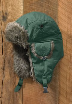 Extra Large Fur Trim Hat,