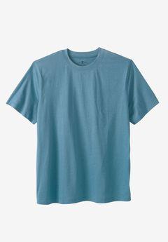 Crewneck Flex Short-Sleeve Tee by Liberty Blues® , ASH BLUE