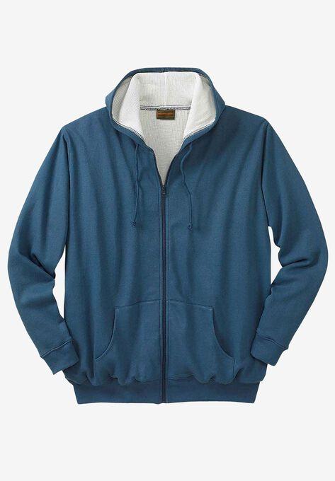 Thermal Lined Full-Zip Hoodie by Boulder Creek®  d43773726ea