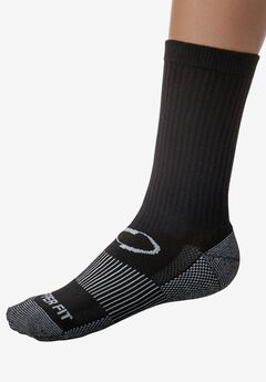 Sport Crew Sock 2 Pack by Copper Fit™,