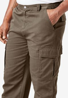 Renegade Cargo Pants with Side Elastic by Boulder Creek®, BARK