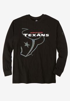NFL® Long-Sleeve Logo Tee, TEXANS