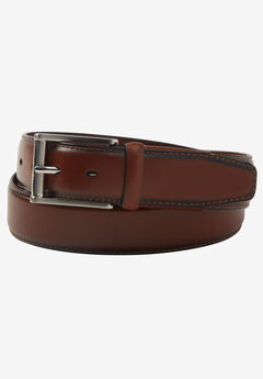 Premium Comfort Casual Belt, BROWN, hi-res