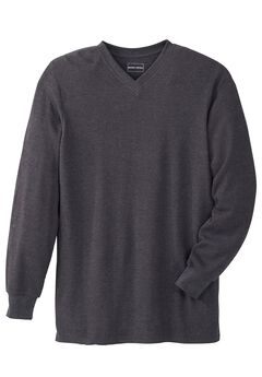 Heavyweight Thermal V-Neck Tee by Boulder Creek®,