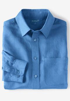 Linen Blend Dress Shirt by KS Island™,