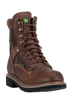 John Deere® 8' All Around Waterproof Steel Toe, TOASTED WHEAT, hi-res