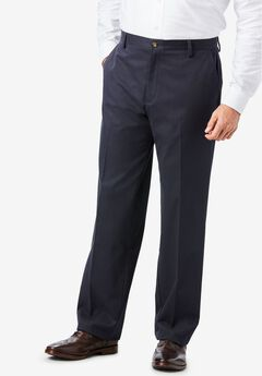 Signature Lux Flat Front Khakis by Dockers®,