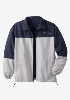 Track Jacket by Champion®, NAVY GREY, hi-res