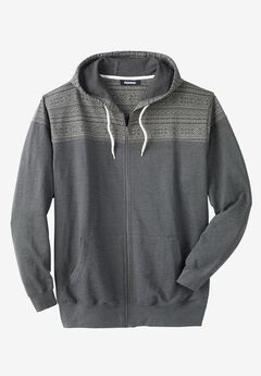 Snow Lodge Hoodie, HEATHER SLATE
