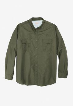 2404980ea91a Off-Shore Long-Sleeve Sport Shirt by Boulder Creek®