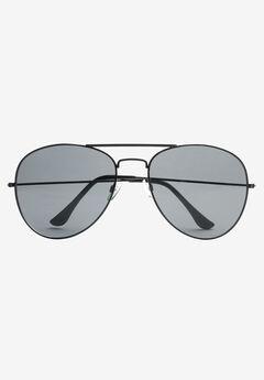 Aviator Sunglasses by KS Island™, BLACK