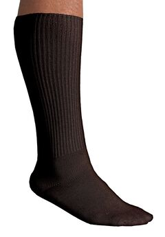 Diabetic Over-The-Calf Socks, BROWN