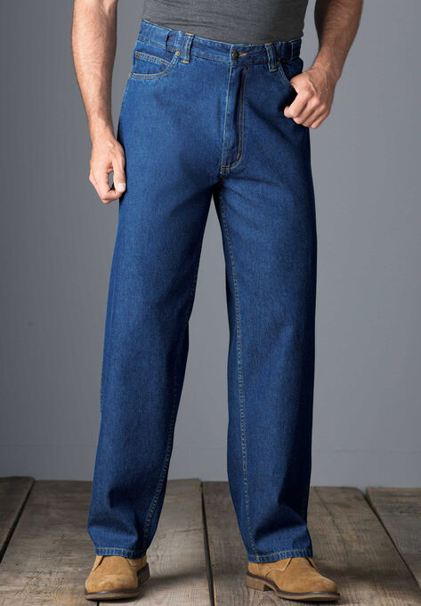 0e00c20dd66 Expandable Waist Relaxed Fit Jeans