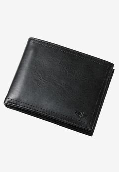 Pocket Mate Bifold Wallet by Dockers®, BLACK THREE, hi-res