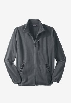 Explorer Fleece Jacket, STEEL