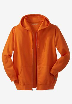 Wicking Fleece Zip Hoodie by KS Sport™ ,