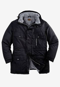 Expedition Parka by Boulder Creek®, BLACK, hi-res